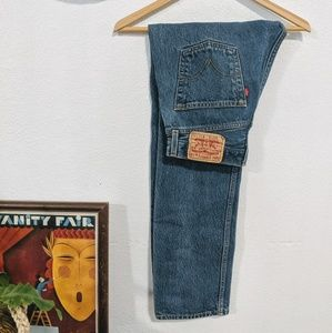 Vintage Levi 501 High Waisted Jeans